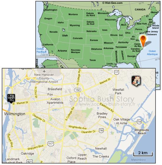 Maison Sophia Bush et Chad Michael Murray - Localisation