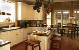 Maison Sophia Bush et Chad Michael Murray - Cuisine