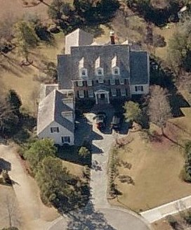 Maison Sophia Bush et Chad Michael Murray - Vue satellite 2