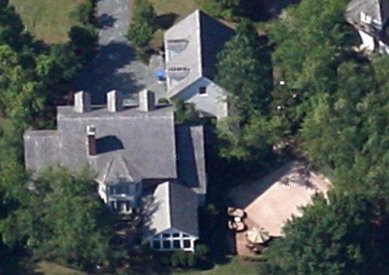 Maison Sophia Bush et Chad Michael Murray - Vue satellite 3